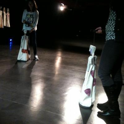 Marionnettes avec Sylvie Osman (autour du