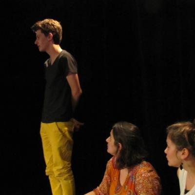 Stage clown avec Magali Bénévent (groupe 1)