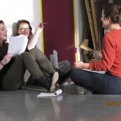 Atelier Woyzeck avec Marion Duquenne