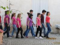 Avril 2014 : spectacle de danse des Seconde au musée des ATP